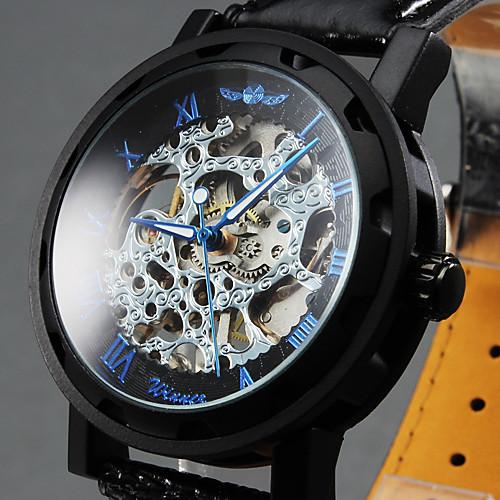 Фирменные часы скелет